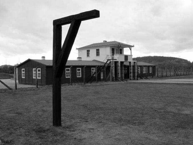 Groß Rosen Concentration Camp, main entrance