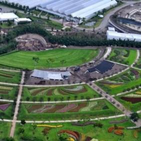 jardines-aerial-floral-fan