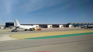 File photo of a Vueling jet (at Alicante-Elche airport)