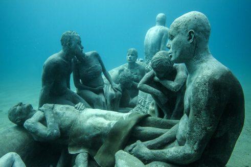Onder water naar een museum -6