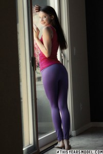 Rylee Marks - Lycra Leggings Strip - This Years' Model - 02