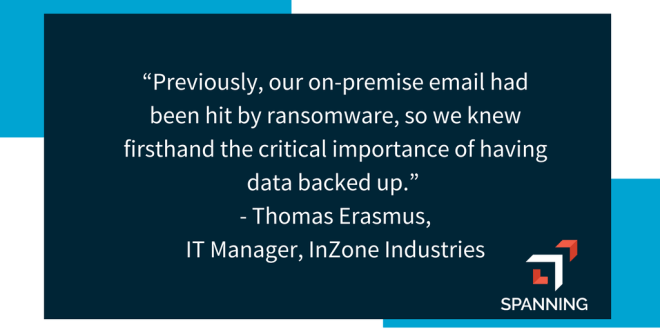 Importance of having backup in place to prevent a ransomware disaster