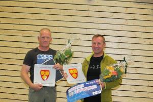 Svein Ola Nygård og Kåre Johan Nygård ble tildelt Lavangen kommunes kulturpris i 2012