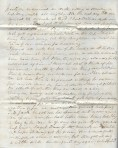 1845 Letter, Page 2