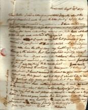 1835 Letter