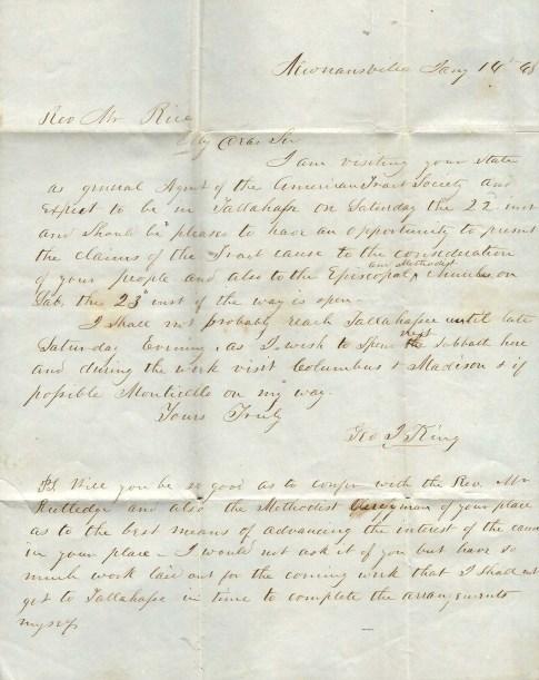 1848 Letter