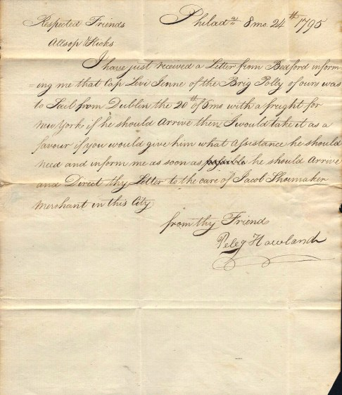 1795 Letter