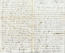 John Dyer Letter (pg 1)
