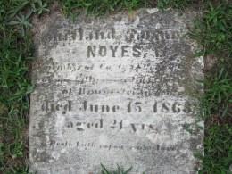 Charles Noyes' Gravestone