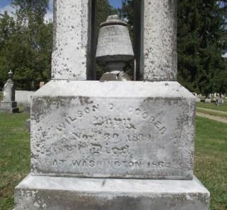 Cooper's Gravestone