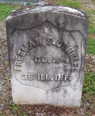 Freeman S. Dunklee Grave Marker