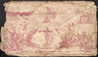 Back of 1862 Envelope