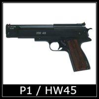 Beeman P1 HW45 Air Pistol Spare Parts