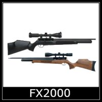 FX FX2000 Air Rifle Spare Parts