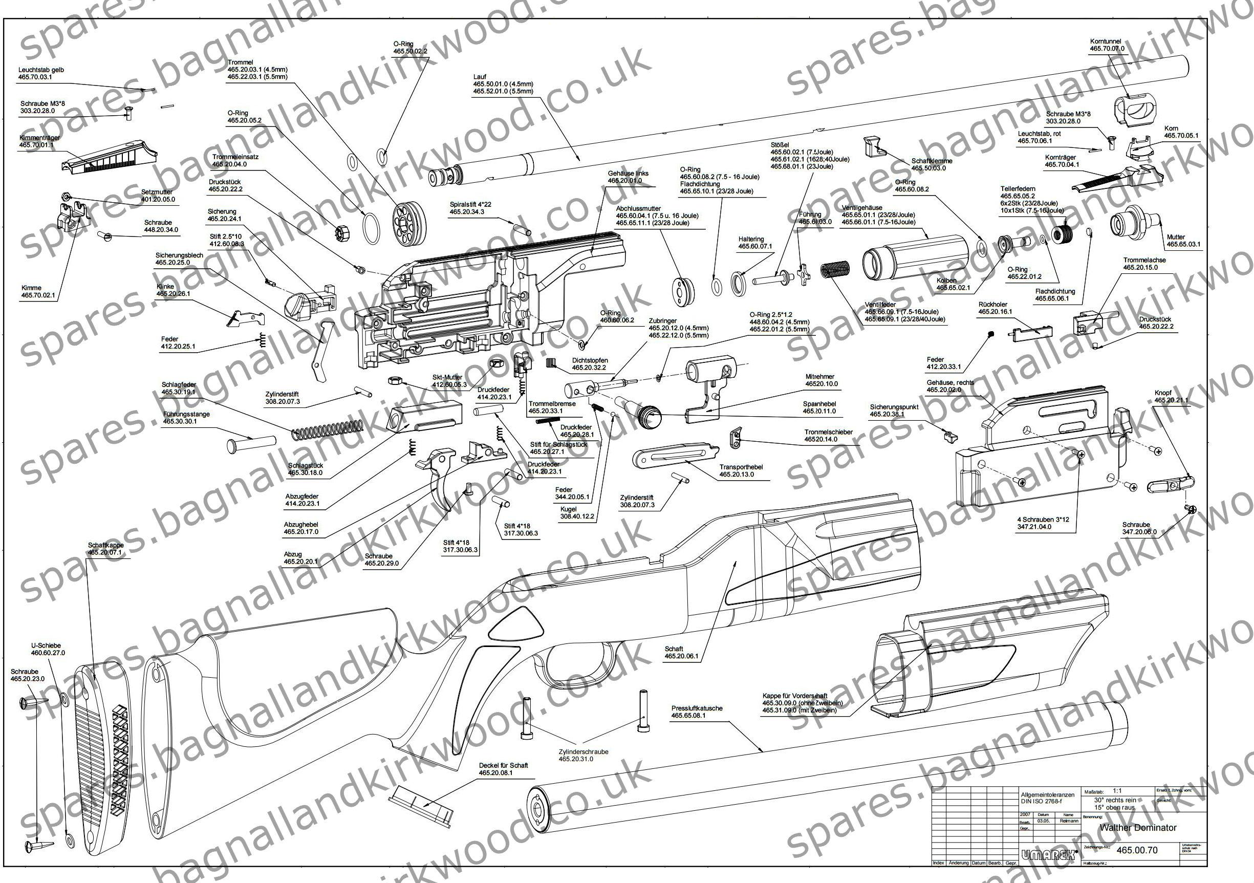 umarex spare parts uk