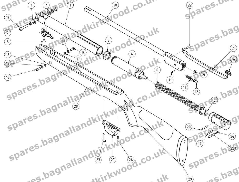 Gamo Bone Collector Parts Diagram