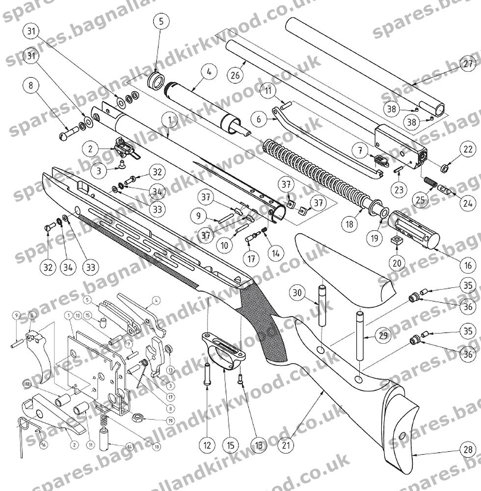 weihrauch hw98 spare parts