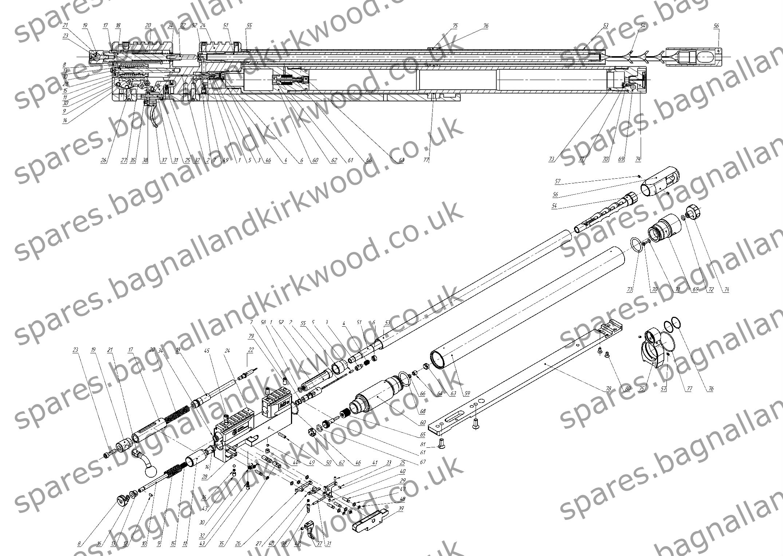 Ataman Demyan M2 M2r Bagnall And Kirkwood Airgun Spares