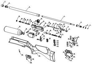SMK M16A  Bagnall and Kirkwood Airgun Spares