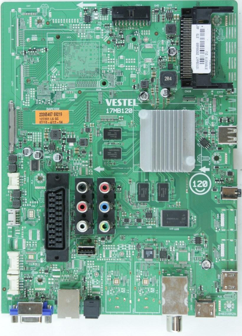 Bush Tv Spare Parts 17pw26 4 Circuit Diagram Led49292uhdfvp Main Av 23365466 17mb120 040316r2a