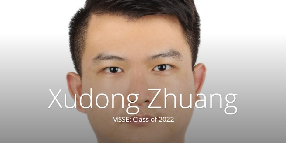 Xudong Zhuang - Student Experience (msse)