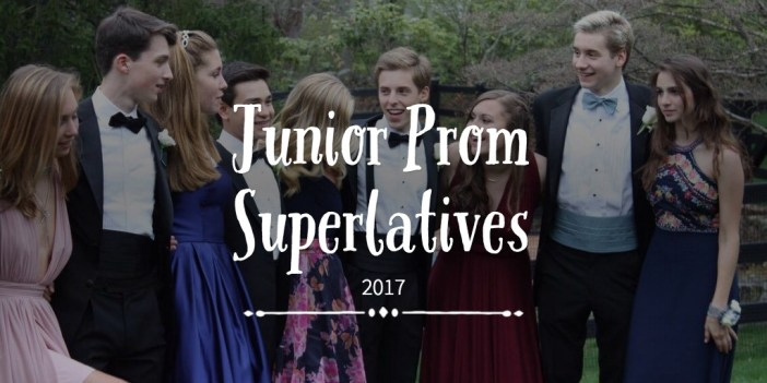 Junior Prom Superlatives