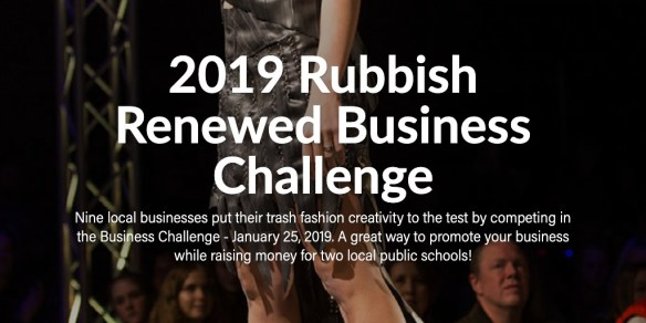 2019 Rubbish Renewed Business Challenge