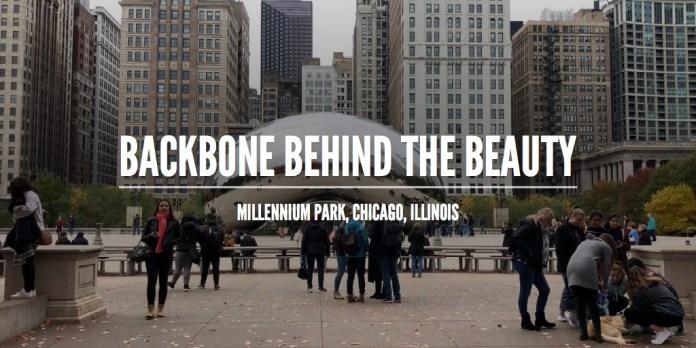 Backbone behind the beauty: Millennium Park