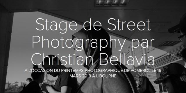 Stage de Street Photography par Christian Bellavia