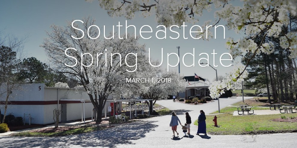 Southeastern Spring Update