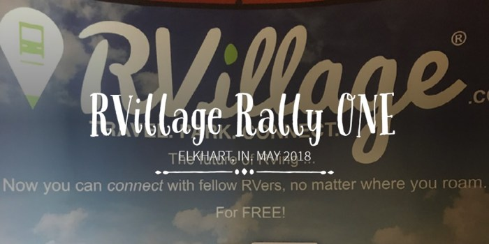 RVillage Rally ONE