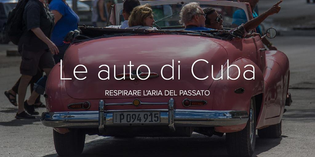 Le auto di Cuba