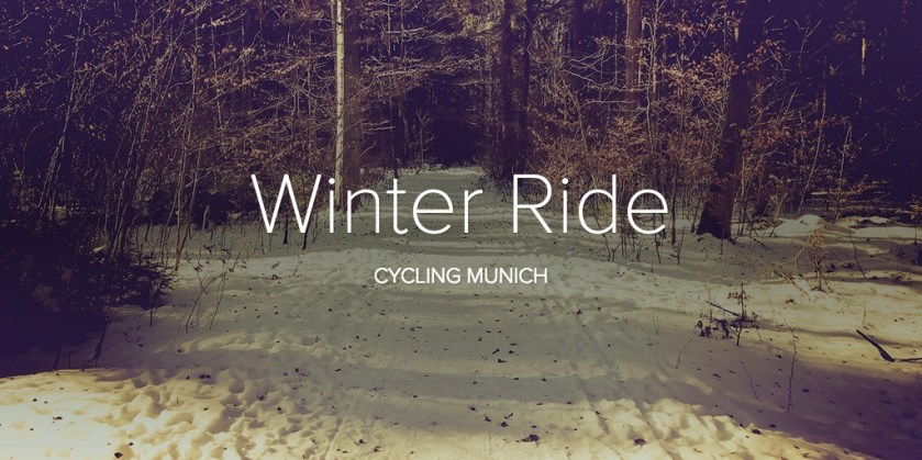 Winter Ride