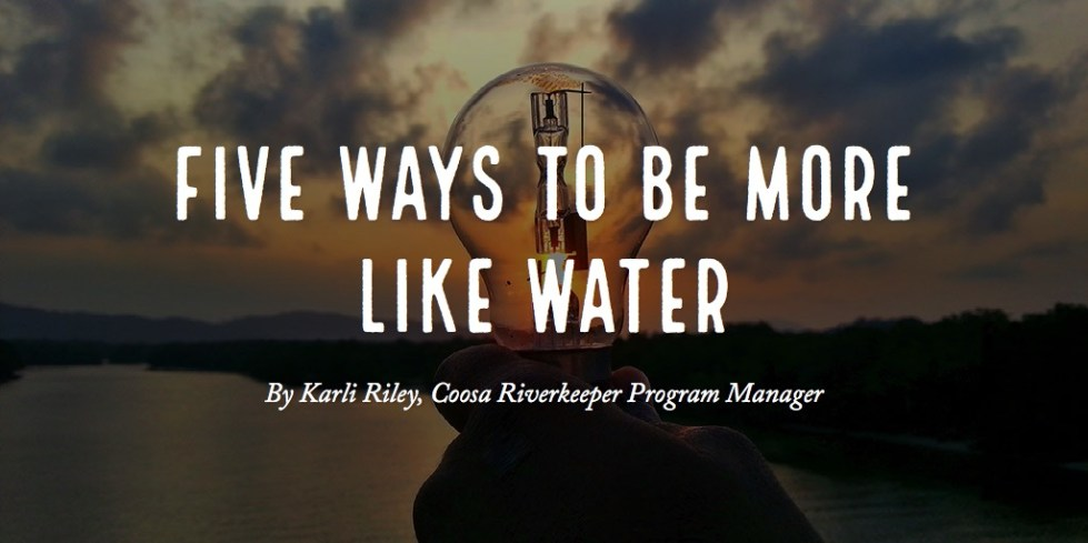 five ways to be more like water