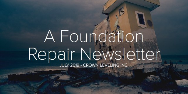 A Foundation Repair Newsletter