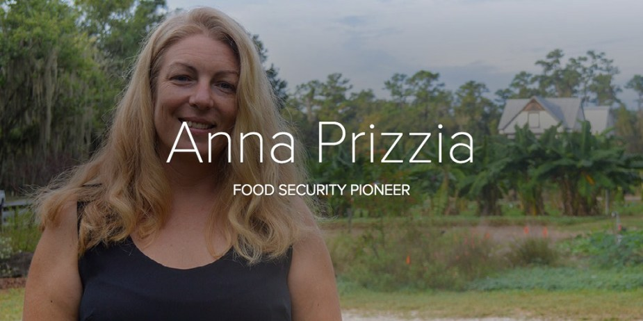 Anna Prizzia - Food Security Pioneer