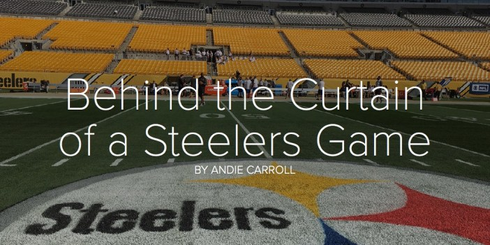 Behind the Curtain of a Steelers Game