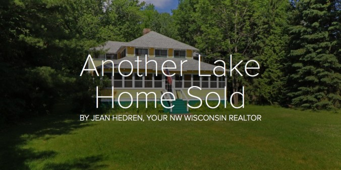 Another Lake Home Sold