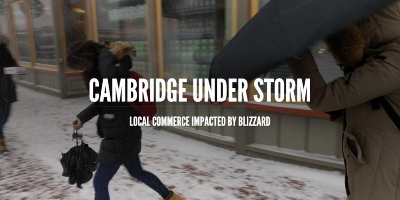 Cambridge Under Storm