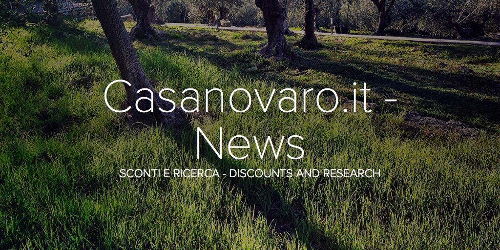 Casanovaro.it - News