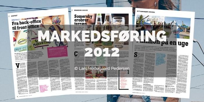 Lars Hedegaard Pedersen - Markedsføring 2012