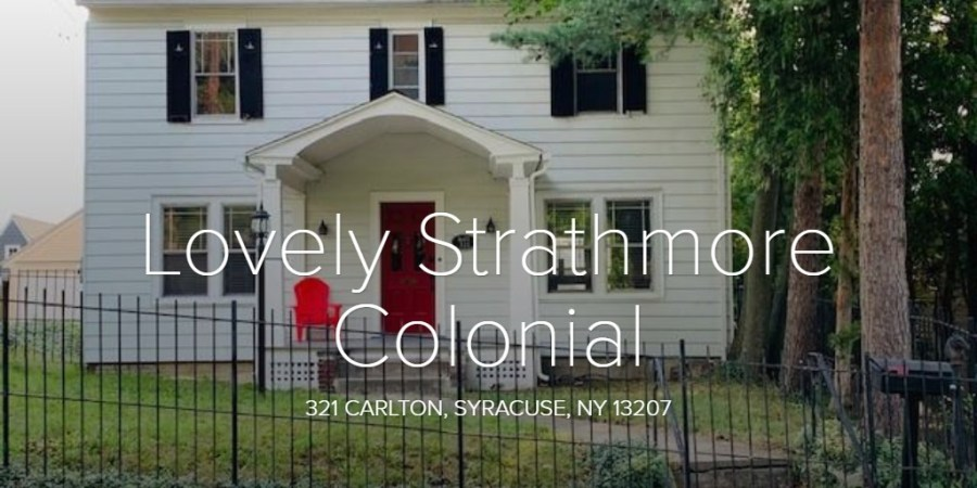 Lovely Strathmore Colonial