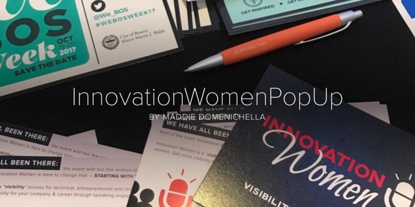 InnovationWomenPopUp