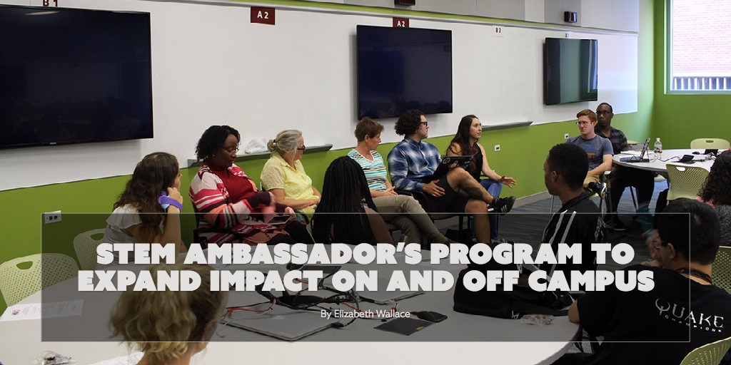 STEM Ambassador's Program to expand impact on and off campus