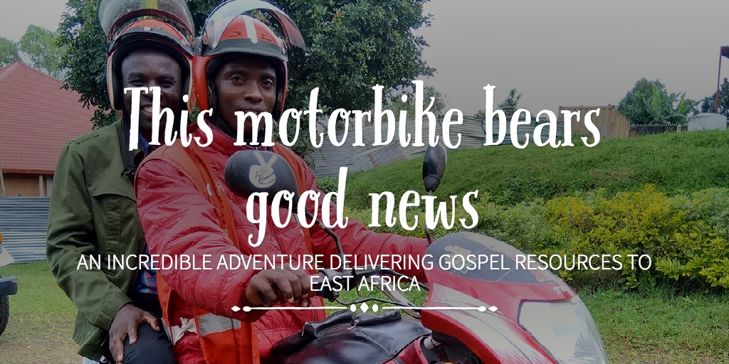 Christianity Explored Ministries : This motorbike bears ...