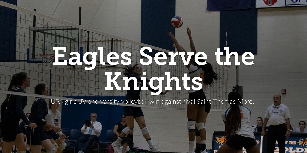 Eagles Serve the Knights
