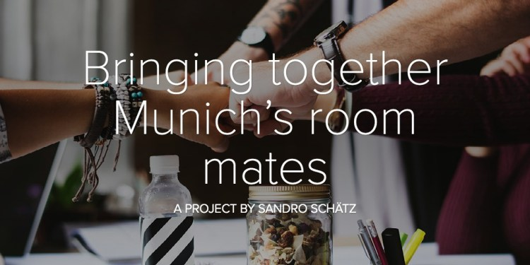 How to bring together Munich's room mates