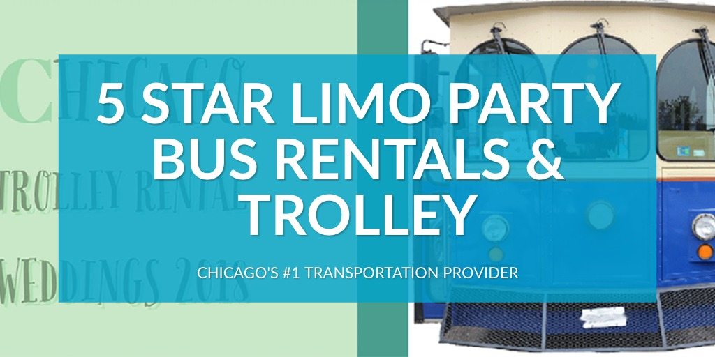 5 Star Limo Party Bus Rentals & Trolley