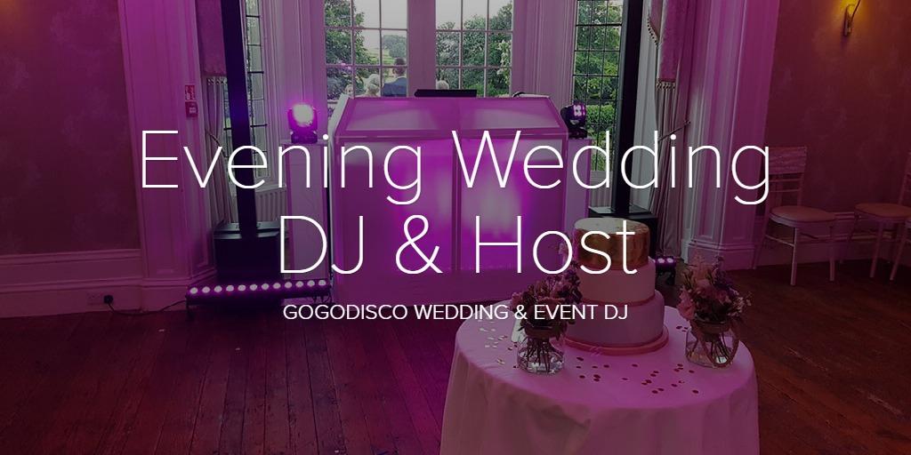 Evening Wedding DJ & Host