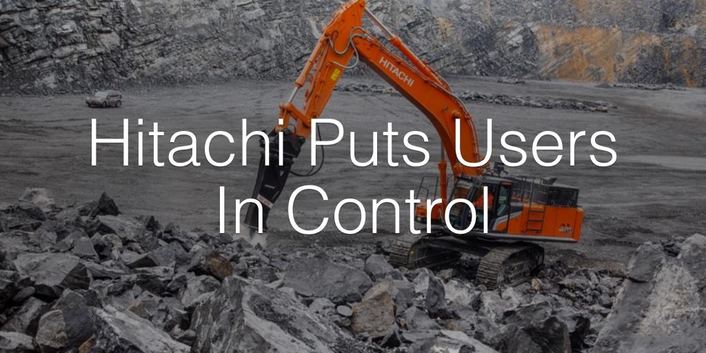 Hitachi Puts Users In Control